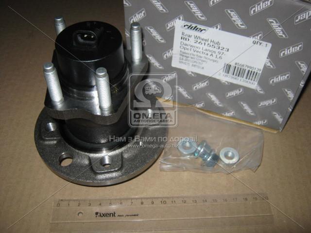 Ступица колеса к-т DAEWOO LANOS 97-, OPEL VECTRA A задн. 1,6 (RIDER RD.26155323)