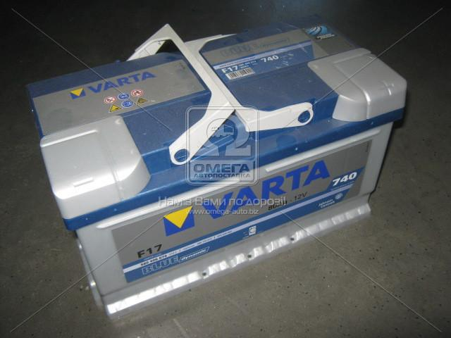 Аккумулятор 80Ah-12v VARTA BD(F17) (315х175х175),R,EN740
