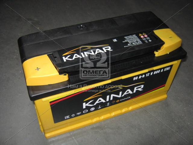 Аккумулятор 90Ah-12v KAINAR Standart+ (353х175х190),(0 R),EN800