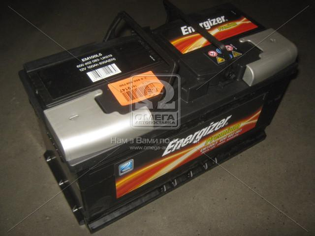 Аккумулятор 100Ah-12v Energizer Prem.(353х175х190), R,EN830
