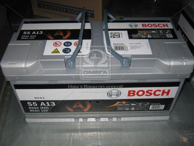 Аккумулятор 95Ah-12v BOSCH (S5A13) (353x175x190),R,EN850