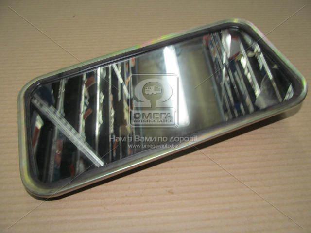 Зеркало боковое ЗИЛ 130 плоское метал.корп