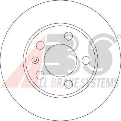 Диск тормозной SKODA FABIA передн. вент. (пр-во ABS 17194) 6900164544