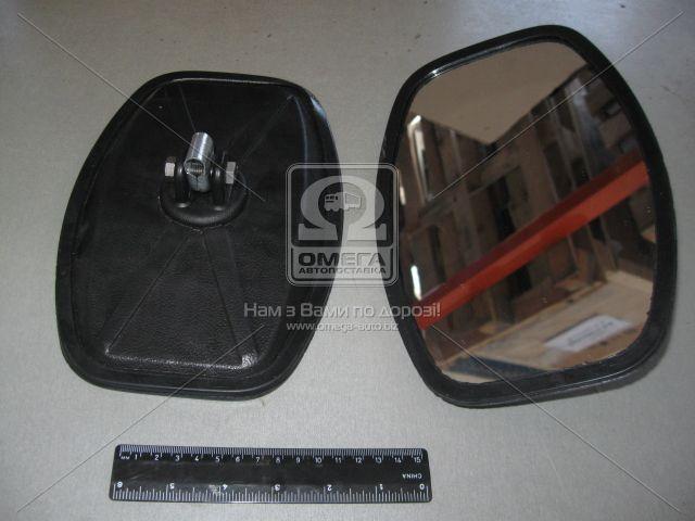 Зеркало боковое УАЗ 452 250х160 плоское пласт.корп. (пр-во Россия 452-8201020-П1)