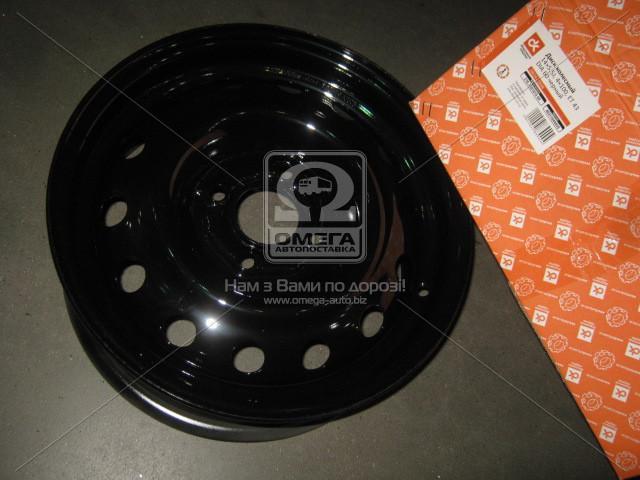 Диск колесный 14х5,5J 4x100 Et 43 DIA 60 DACIA LOGAN (в упак.) черный