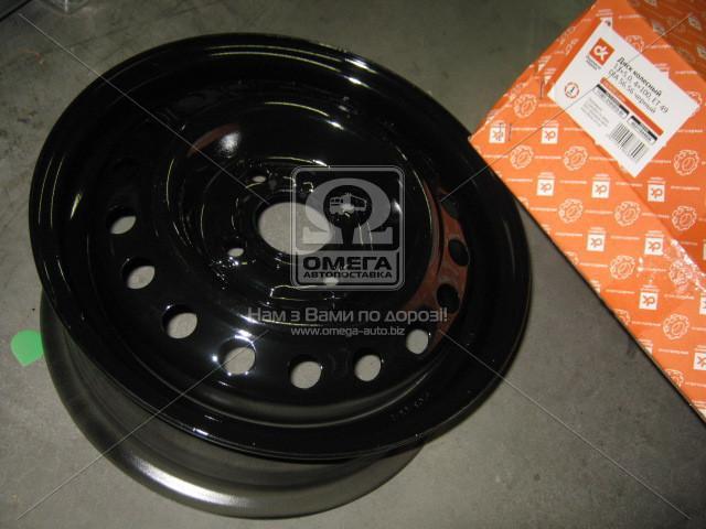 Диск колесный 13х5,0 4x100 Et 49 DIA 56,56 DAEWOO Lanos черный (в упак.)