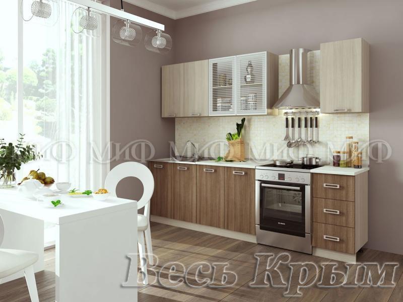 МИФ-Кухня Катя 2,0м Мебель для кухни в Крыму