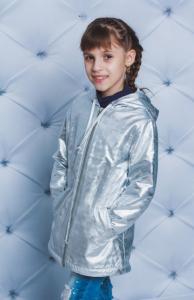 Фото Куртки, комбинезоны, пальто, жилетки ДЕВОЧКАМ Скидка! -15% Куртка-дождевик 4-12 лет
