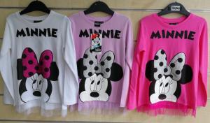Фото Кофты, толстовки, рубашки, свитера Стильный реглан Minnie 98-134 см
