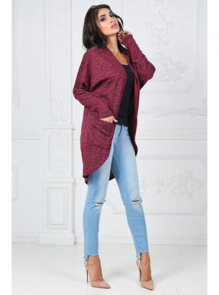Фото Женские кофты, свитера и кардиганы Кардиган теплый