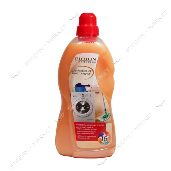 Мыло хозяйственное жидкое Bioton cosmetics Универсальное 1 л