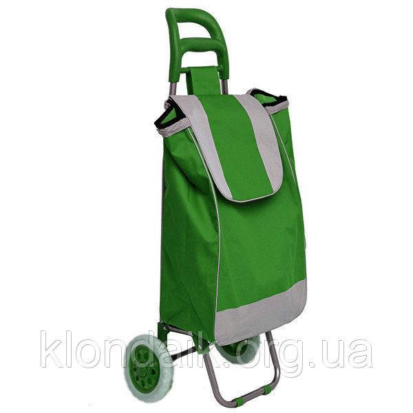 Тачка сумка с колесиками кравчучка 95см E00317 Gre
