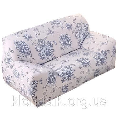 Чехол на диван натяжной 2х/3х местный Stenson R26303 145-185 см