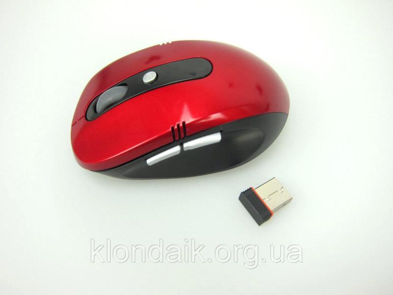 Беспроводная оптическая мышка мышь G 108 Red