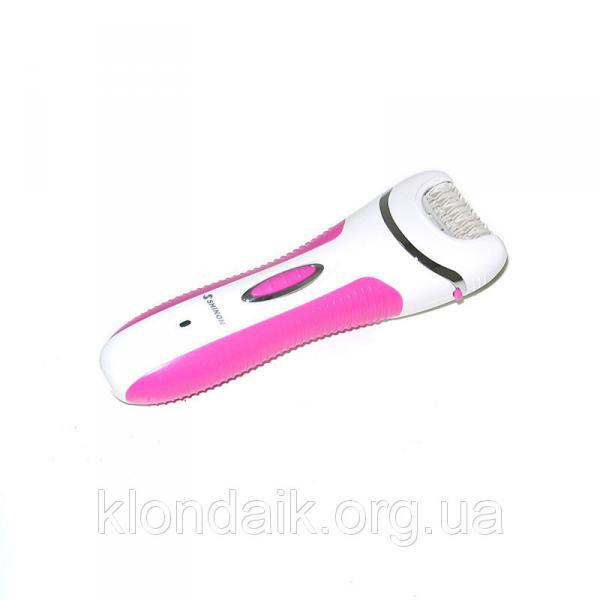 Эпилятор 4 в 1 Shinon SH 7656 с бритвенной насадкой, розовый