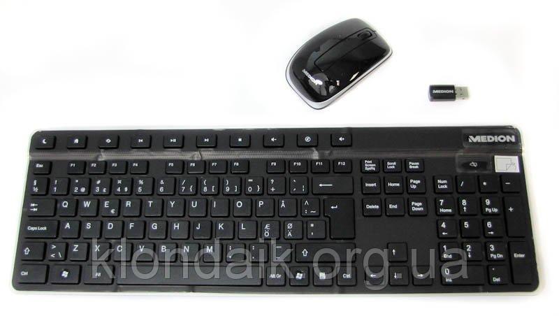 Комплект беспроводная клавиатура и мышь Medion MD 86360