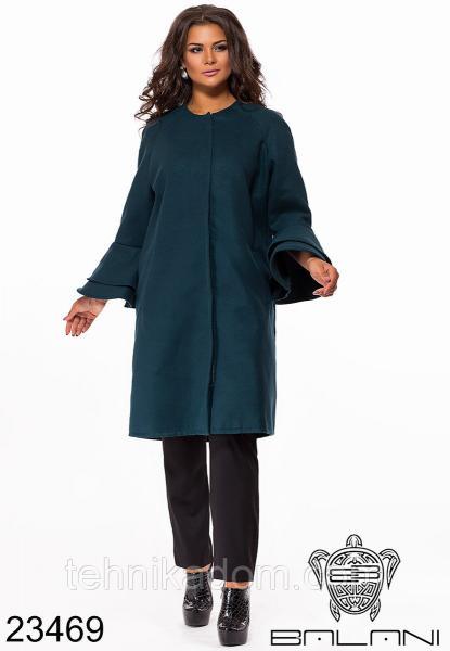 Стильное пальто- 23469