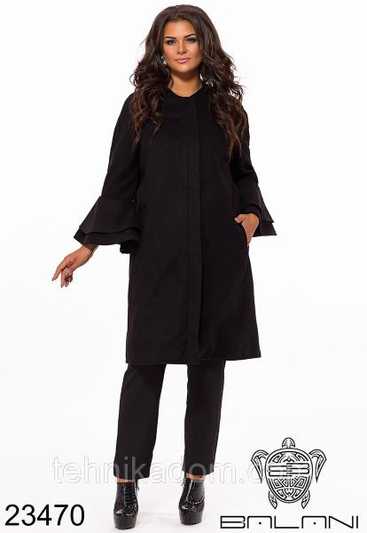 Стильное пальто- 23470