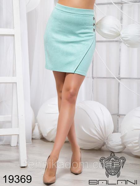 Стильная короткая юбка - 19369