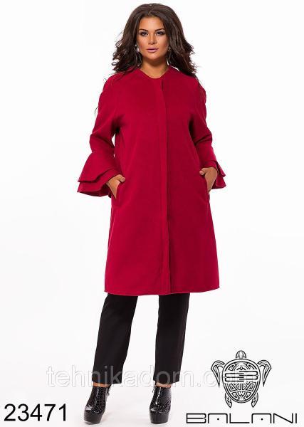 Стильное пальто- 23471