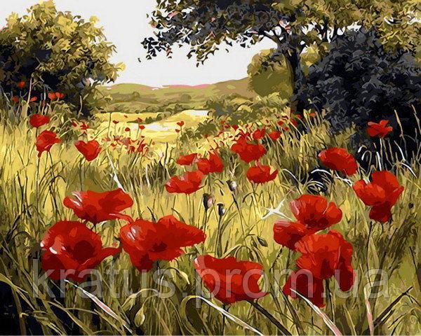 Фото Картины на холсте по номерам, Пейзаж Q 1432