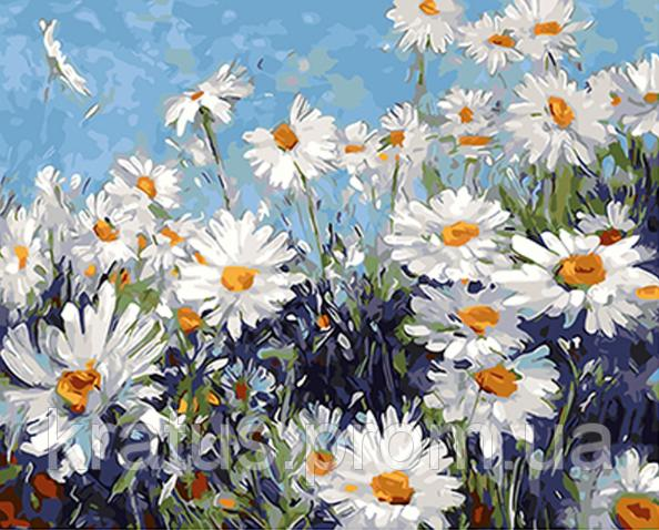 Фото Картины на холсте по номерам, Букеты, Цветы, Натюрморты KGX 4227
