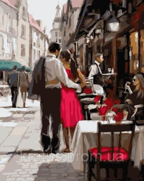 Фото Картины на холсте по номерам, Романтические картины. Люди KGX 3562