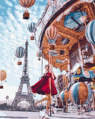 Фото Картины на холсте по номерам, Городской пейзаж GX 22860