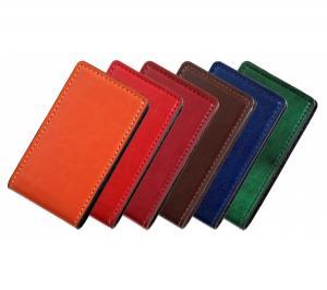 Визитница карманная на 10 визиток ассорти
