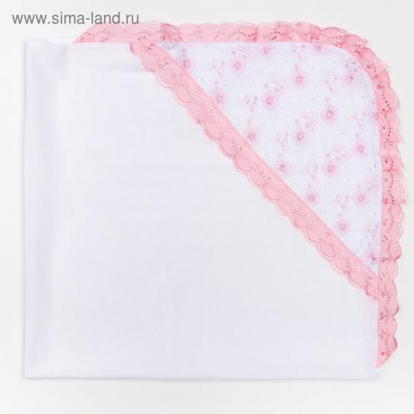 Уголок на выписку А.0010, цвет розовый, 80х80 см