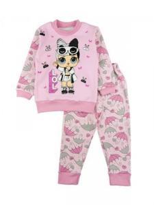 Фото Колготы, носочки, нижнее белье Пижама утепленная, разные расцветки 80-128 см