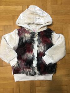 Фото Куртки, комбинезоны, пальто, жилетки ДЕВОЧКАМ Модная шубка демисезон 134-164 см
