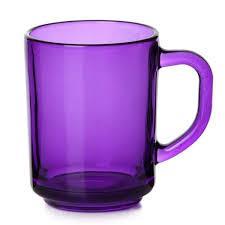 PUB Чашка д/чая, 250 мл (h=94мм) (ENJOY PURPLE) 55029ф