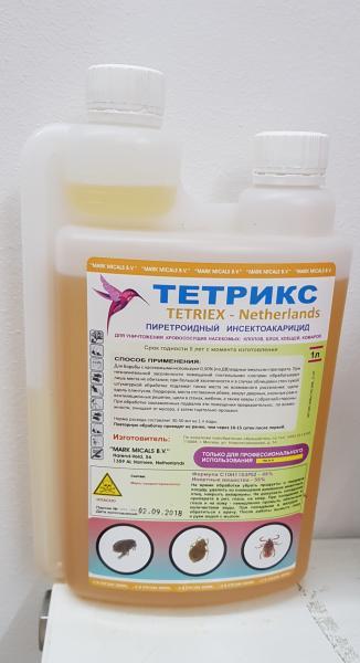 Фото Средства от насекомых 2.  Тетрикс  1 л - 1 шт.