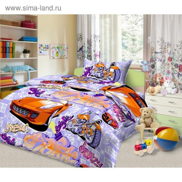 Детское постельное бельё 1,5 сп. «Граффити»