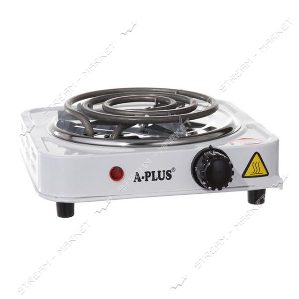 Электроплита A-PLUS 2101 1000Вт, 1 конфорка узкий тэн