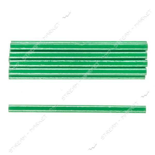 Комплект карандашей по камню H-TOOLS 14B801 зеленые, овальные 175мм уп. 12 шт