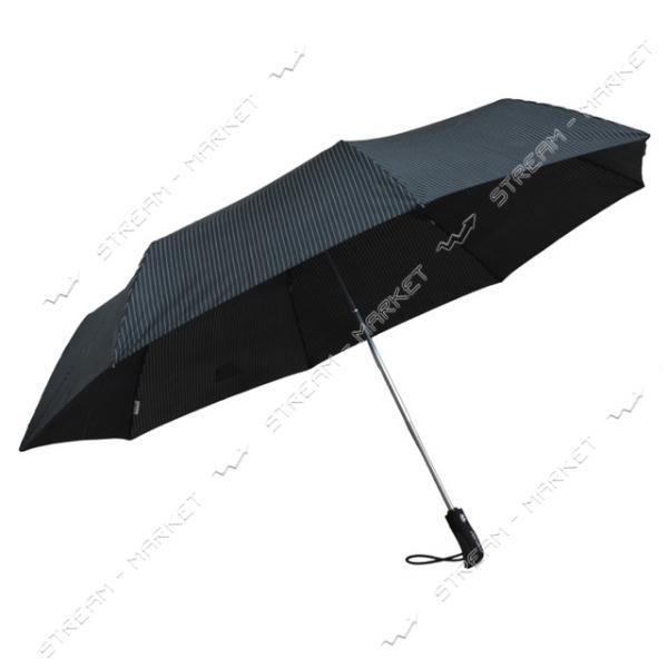 Зонт Aspor Classik 121 см автомат черно-белый