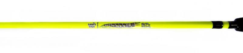 "Фидерное удилище Crocodile ""Yellow""120-180гр 2,70 м"