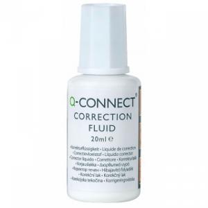 Корректор с кисточкой Q-Connect, 20 ml