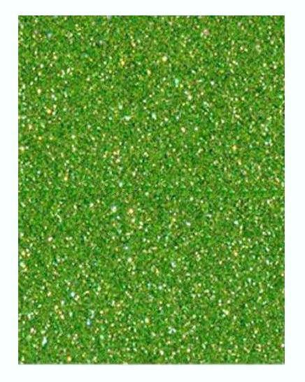 Фото Экокожа  с  глитером ,  и  Фоамиран  гладкий  и  с  глитером ,  Фом  20 * 30 см.  светло - Зелёный  с   глитером ( без клеевой основы ) толщина 2 мм.