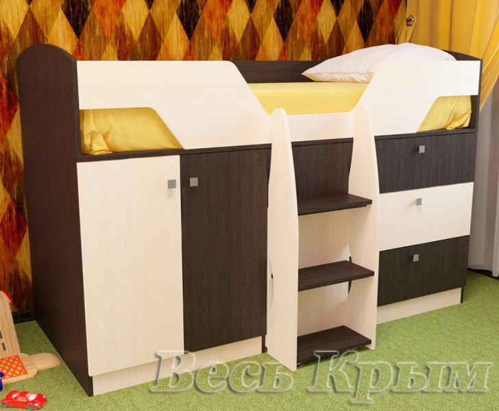 Пирамида-Кровать детская ЛИМБО Кровати двухъярусные в Крыму