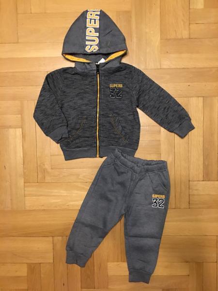Утепленный костюм мальчику 1-5 лет