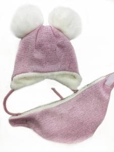 Фото Шапки, шарфы, рюкзаки, перчатки, кепки Супер цена! -15% Шапка теплая для девочки 44/46рр