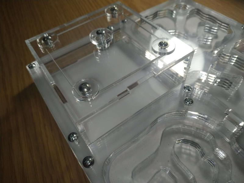 Фото Формикарии Формикарий горизонтальный со смеными блоками увлажнения