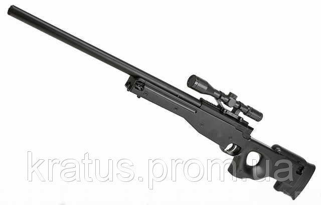Фото Игрушечное Оружие, Стреляет пластиковыми 6мм  пульками, Металлическое и комбинированное (металл + пластик) оружие Винтовка снайперская  ZM52 металл+пластик (BSA-GUNS XL Tactical)
