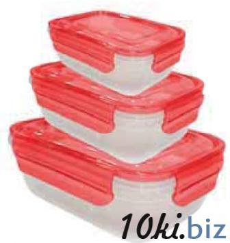 Герметичный прямоуг. к-р с цветн. крышкой, 2,3 л (230*170*106 мм) 94089 купить в Херсоне - Емкости для хранения пищевых продуктов, судки