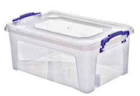 Ящик для хранения, 6 л (355*231*113 мм) 94007