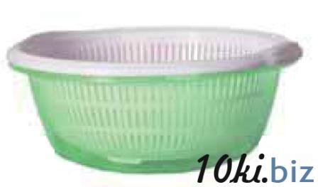 Набор: Дуршлаг 1 шт+ миска  1 шт, 10 л (383*148 мм) 94021 купить в Херсоне - Емкости для хранения пищевых продуктов, судки