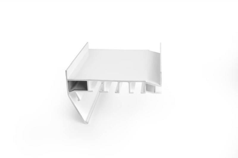 Карниз металлический 3-х рядный